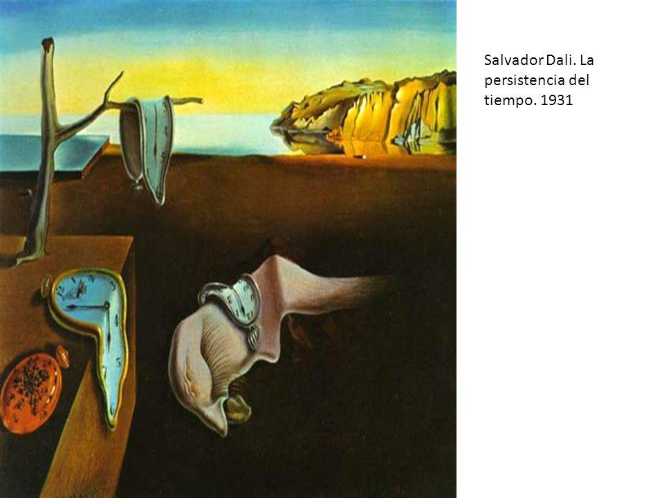 Salvador Dali. La persistencia del tiempo. 1931