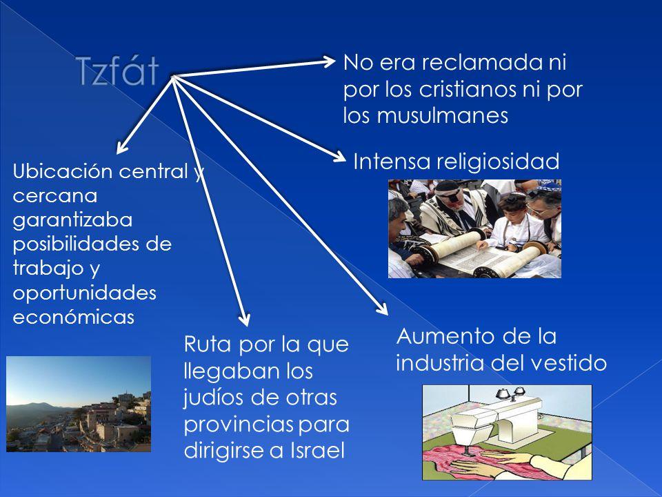 Ruta por la que llegaban los judíos de otras provincias para dirigirse a Israel No era reclamada ni por los cristianos ni por los musulmanes Ubicación