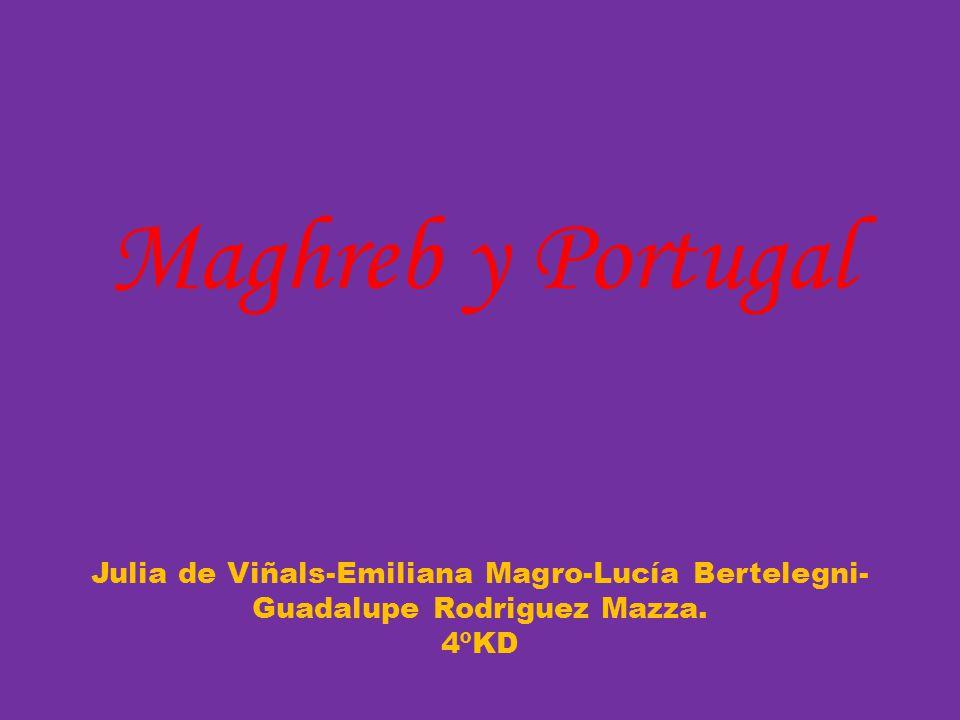 Maghreb y Portugal Julia de Viñals-Emiliana Magro-Lucía Bertelegni- Guadalupe Rodriguez Mazza. 4ºKD