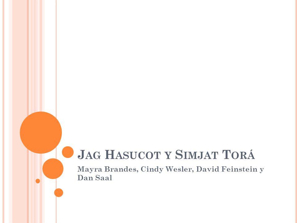 J AG H ASUCOT Y S IMJAT T ORÁ Mayra Brandes, Cindy Wesler, David Feinstein y Dan Saal