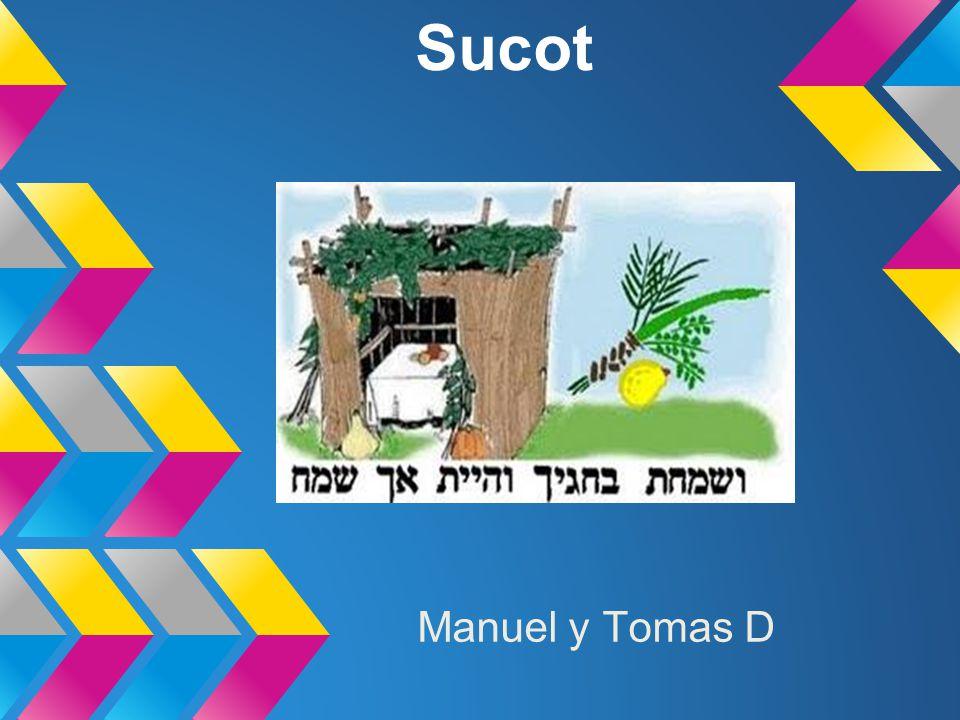 cuando se festeja.La fiesta de Sucot, es también la fiesta de la alegría.