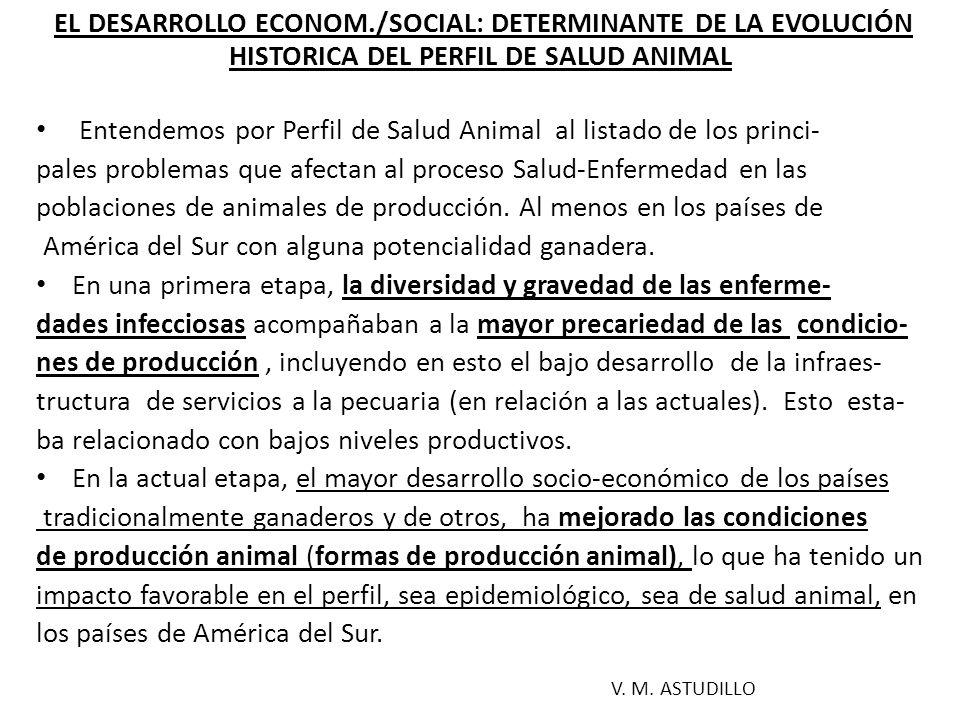 PERFIL EPIDEMIOLÓGICO Y DE SALUD DE POBLACIONES DE ANIMALES DE PRODUCCIÓN Los perfiles epidemiológicos/salud animal, constituyen un desa- fio para el sector público, a todos los niveles, especialmente a nivel local/regional, a través de un conocimiento más directo y pertinente de los problemas y necesidades del proceso salud- enfermedad de una población ganadera definida.