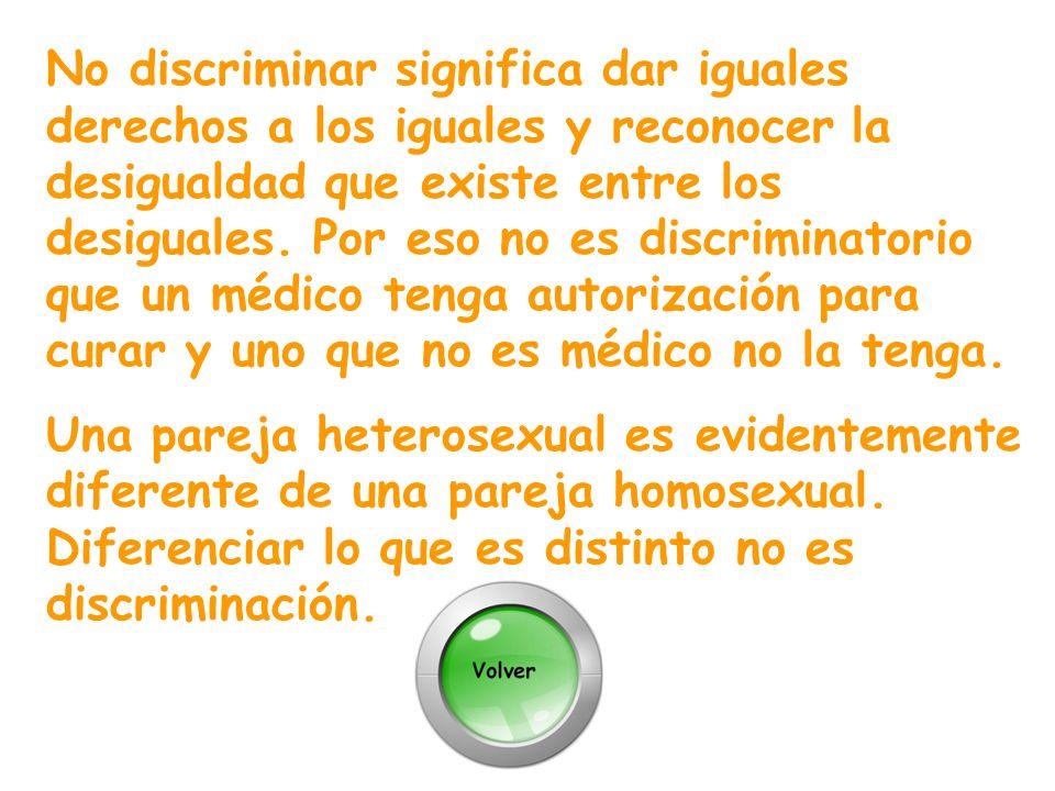 Las personas homosexuales, en tanto personas libres pueden hacer de su vida privada lo que quieran.