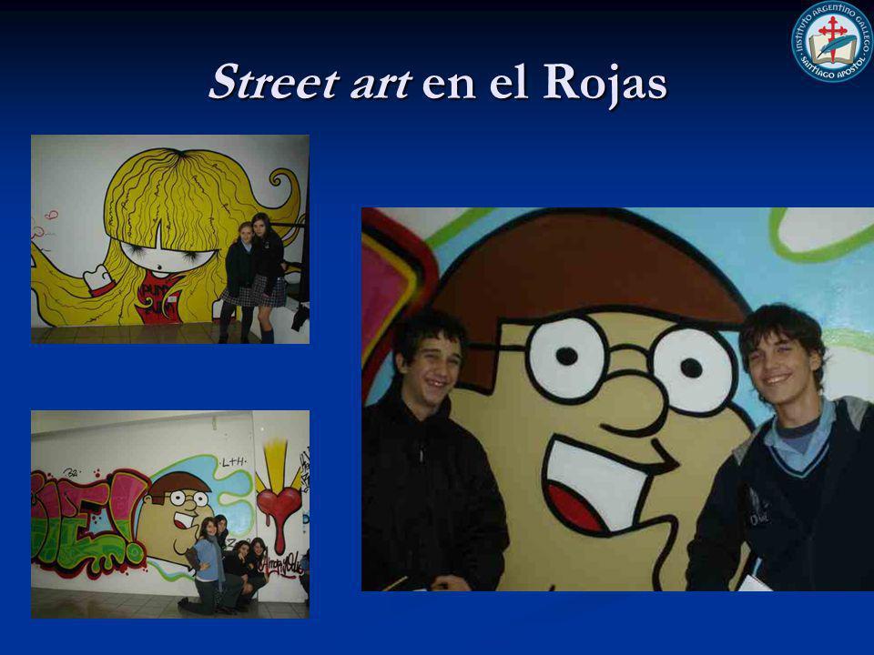 Street art en el Rojas
