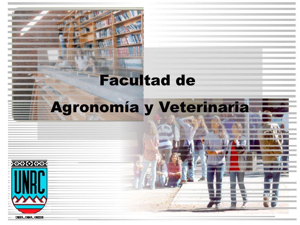 Evolución Alumnos-Agronomía y Veterinaria Tabla 1-1 Fuente: SIAL-UNRC- Datos referidos a cada Ciclo Académico de cada año
