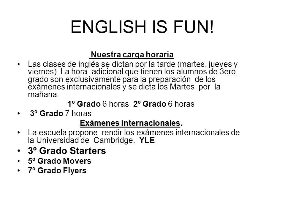 ENGLISH IS FUN.