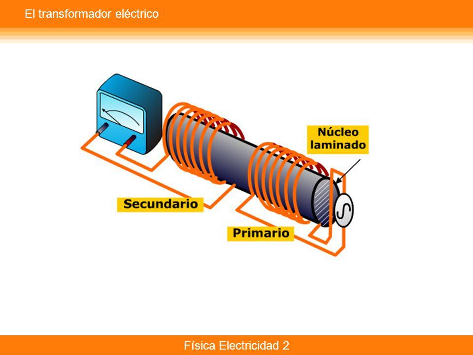 Física Electricidad 2 El transformador eléctrico