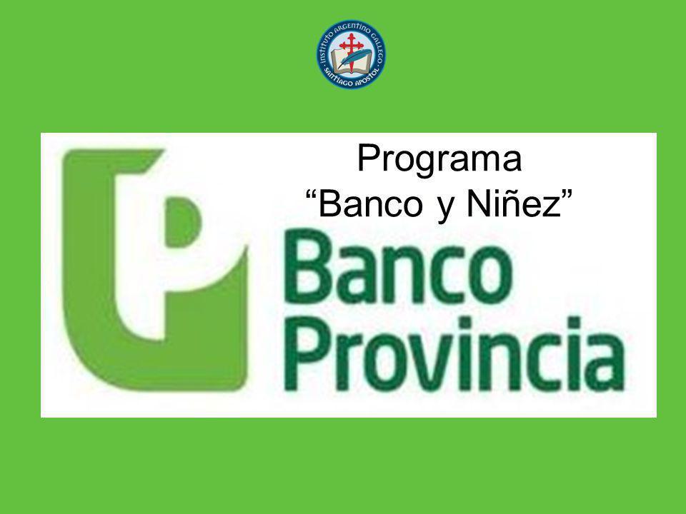 Programa Banco y Niñez