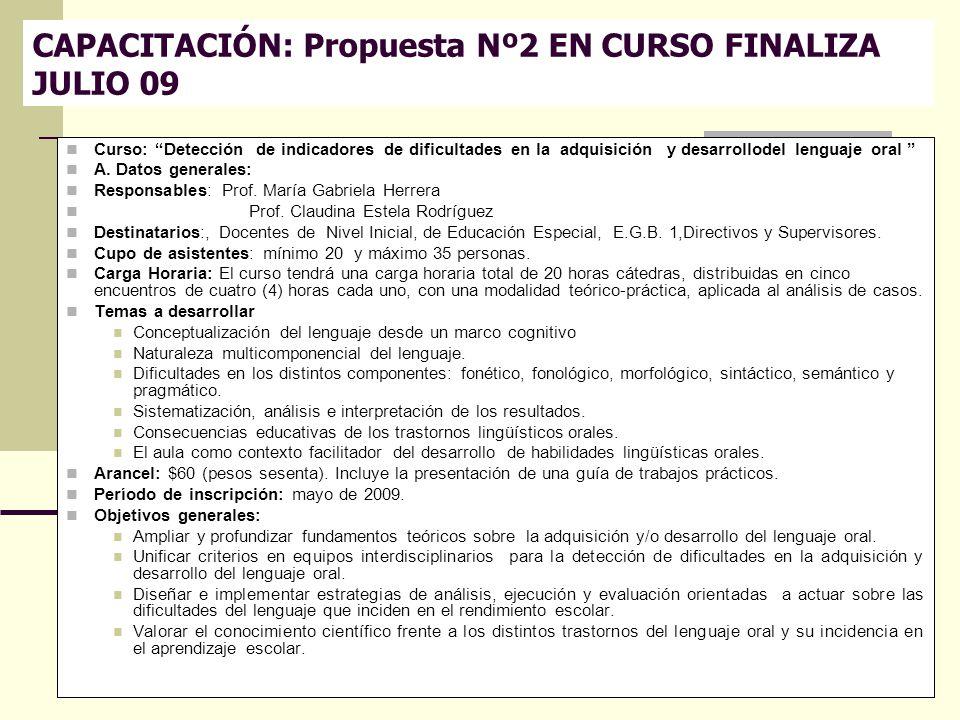 Directora Prof.Cristina Gutiérrez Co directora Prof.Gabriela Herrera 13 Curso: Detección de indicadores de dificultades en la adquisición y desarrollo