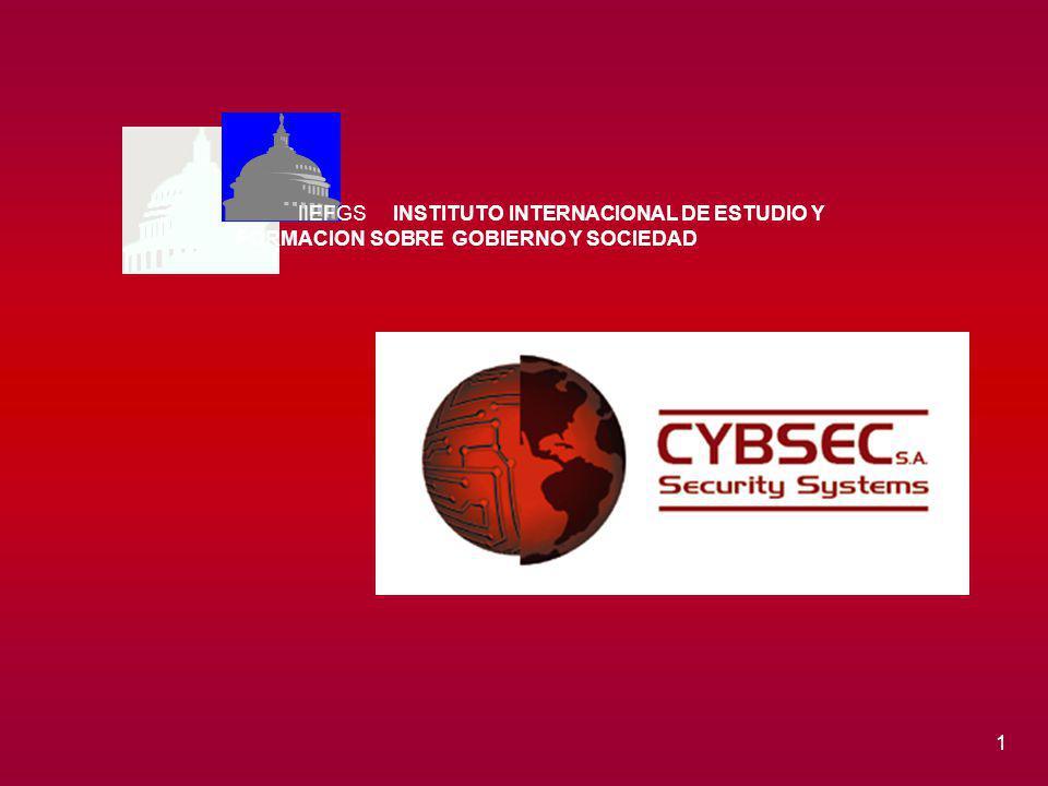 1 IIEFGS INSTITUTO INTERNACIONAL DE ESTUDIO Y FORMACION SOBRE GOBIERNO Y SOCIEDAD