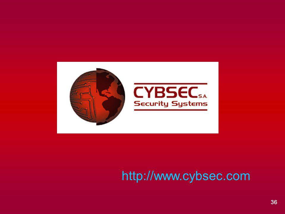 36 http://www.cybsec.com