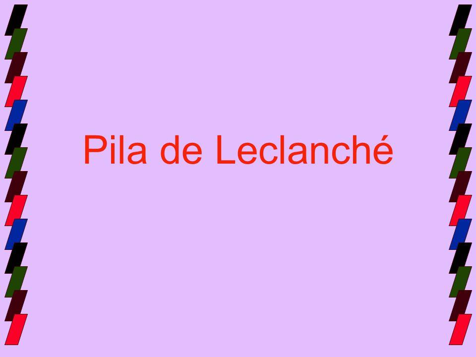 Pila de Leclanché