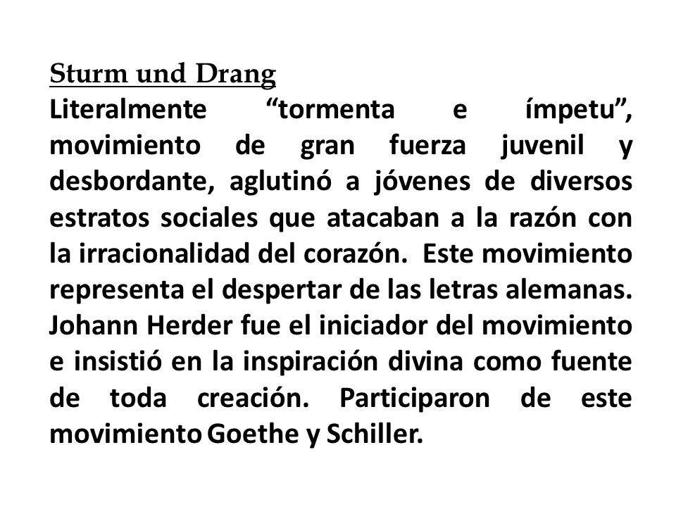 Goethe Herder Schiller