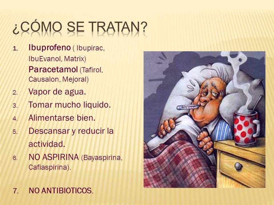 CONSULTAR AL MEDICO URGENTE SI: La Temperatura no baja a pesar de la medicación correcta.
