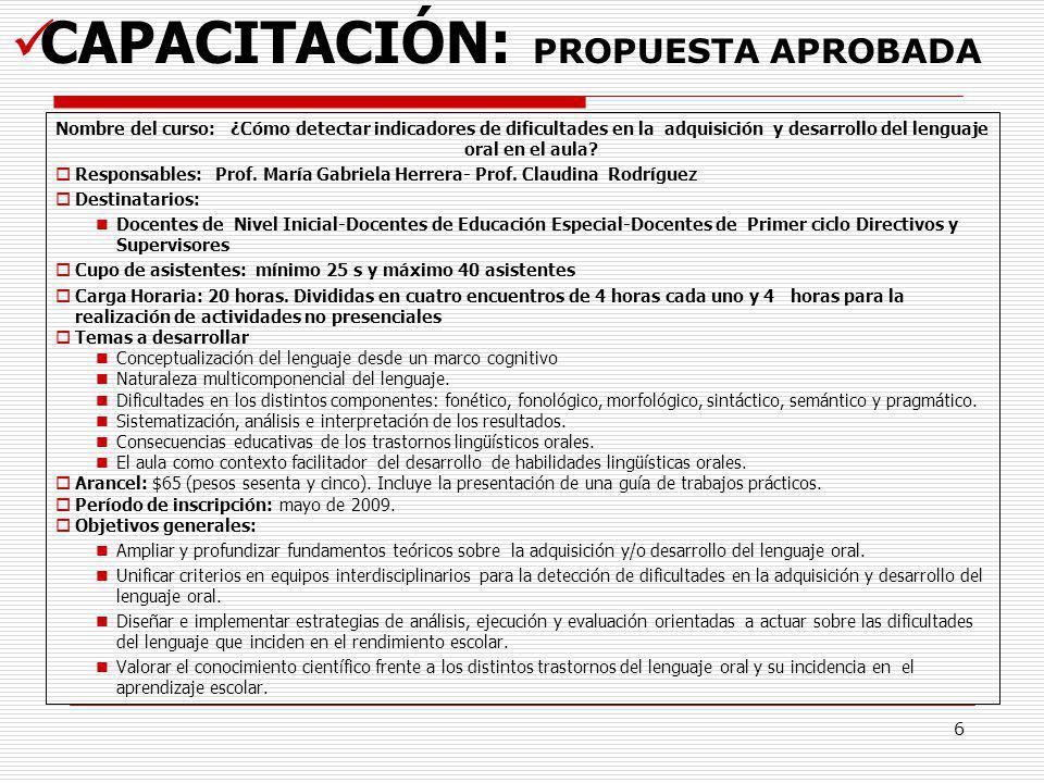 7 CAPACITACIÓN: Propuesta en revisión Curso: Curso introducción a la metodología de investigación: una mirada aplicada y práctica A.
