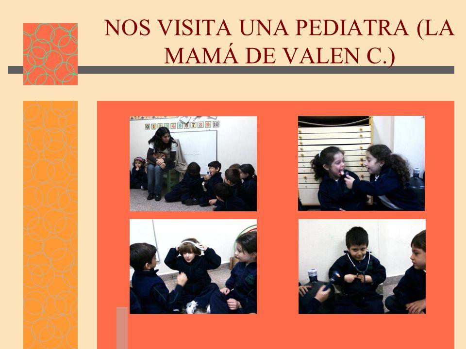 NOS VISITA UNA PEDIATRA (LA MAMÁ DE VALEN C.)