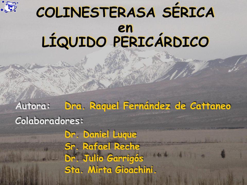 Autora: Dra. Raquel Fernández de Cattaneo Colaboradores: Dr. Daniel Luque Sr. Rafael Reche Dr. Julio Garrigós Sta. Mirta Gioachini. Autora: Dra. Raque