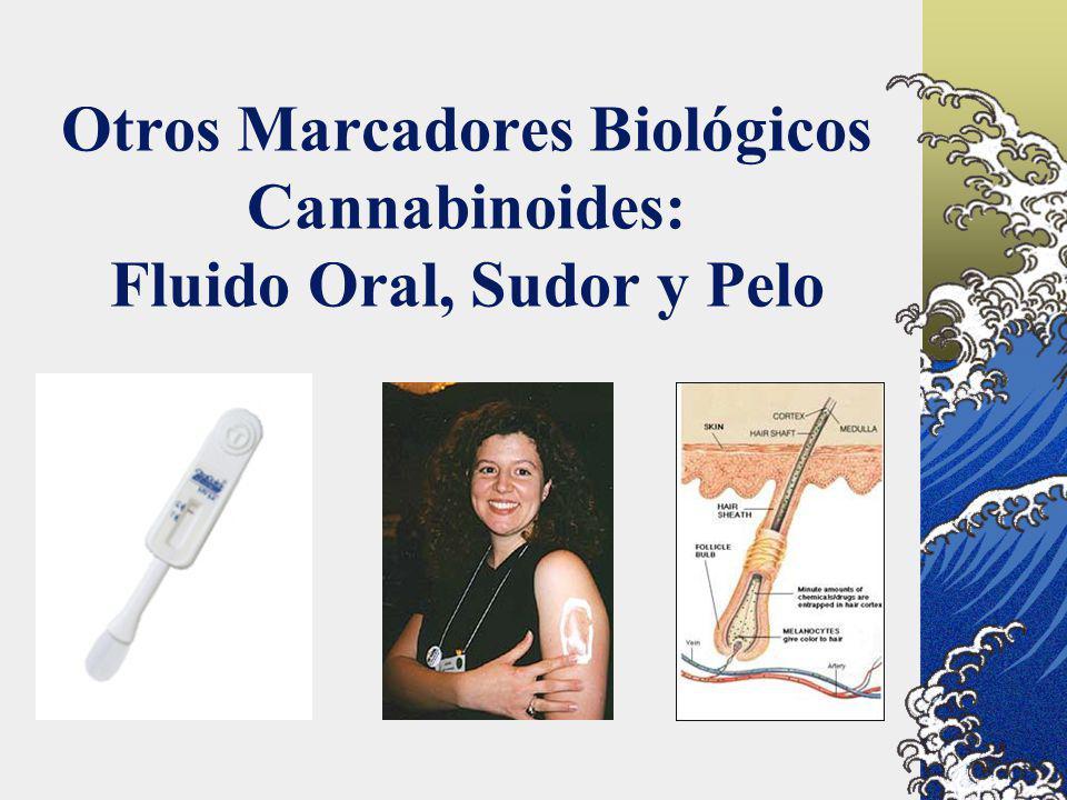 Otros Marcadores Biológicos Cannabinoides: Fluido Oral, Sudor y Pelo