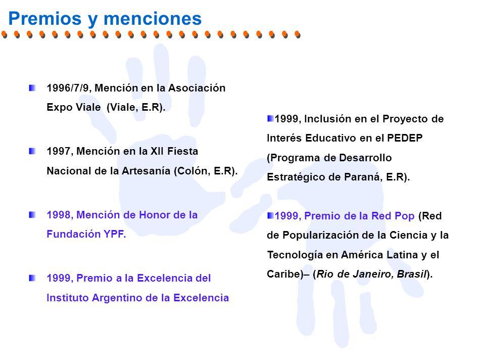 1996/7/9, Mención en la Asociación Expo Viale (Viale, E.R).