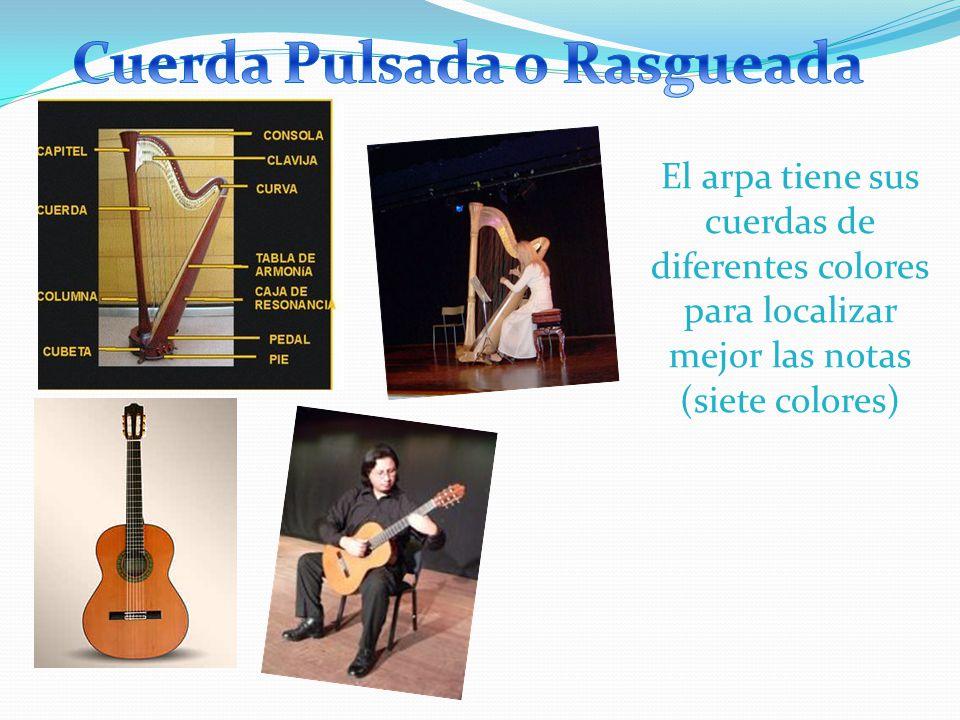 En conclusión, mientras más grande el instrumento, más grave su sonido, siempre depende de la longitud de la cuerda.