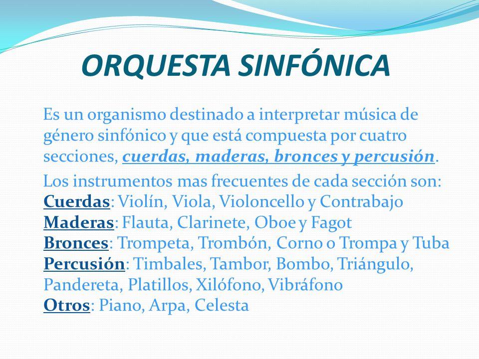 EL DIRECTOR DE ORQUESTA Tiene un papel muy importante, se encarga de coordinar y dirigir a todos los instrumentos. En su cabeza está la partitura. Deb