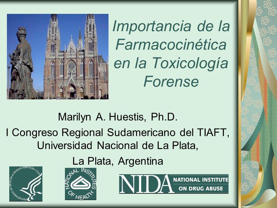 Importancia de la Farmacocinética en la Toxicología Forense Marilyn A.