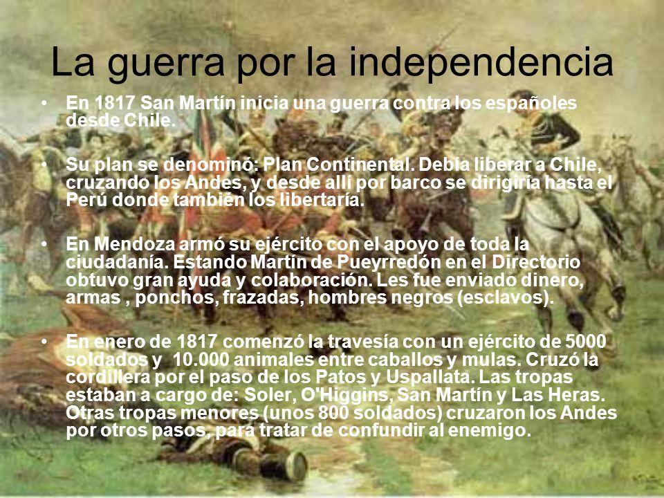 La creación de la bandera La bandera argentina fue creada por Manuel Belgrano el 27 de febrero de 1812, durante la gesta por la Independencia de las P