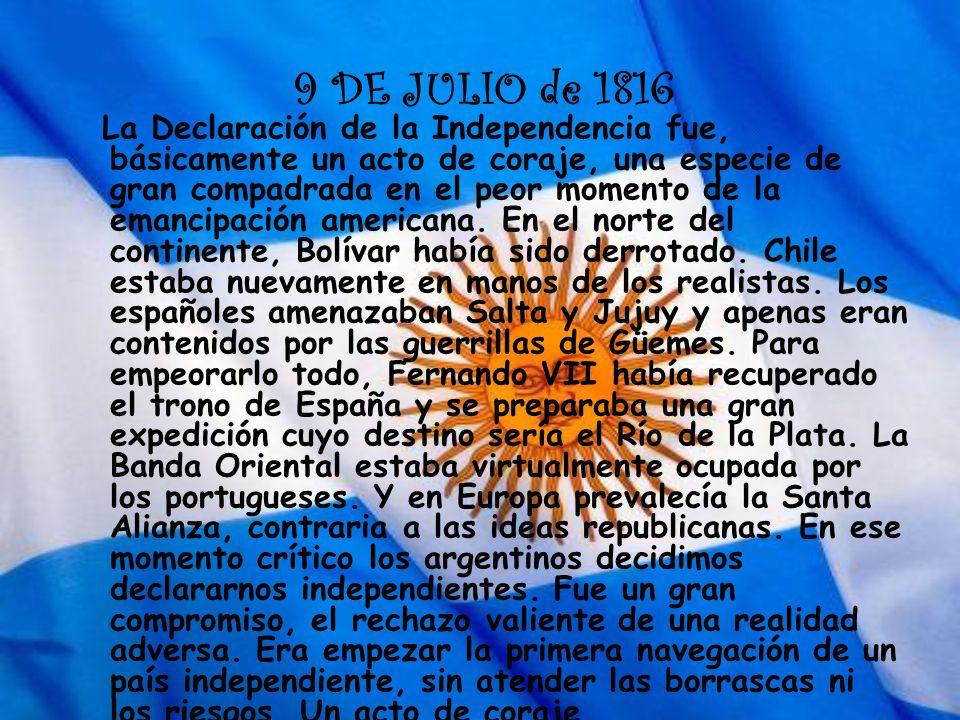 9 de julio Malena Farias 5 º B