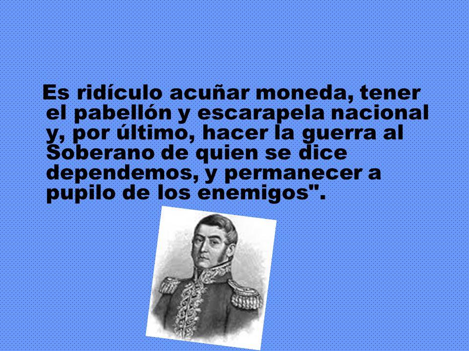 Desde Cuyo, San Martín le escribía a Godoy Cruz : ¿Hasta cuándo esperaremos para declarar nuestra independencia?