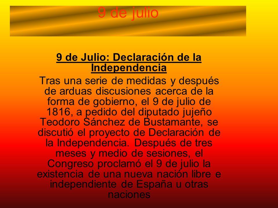 Congreso de Tucumán Yaco Aldasoro 5° B