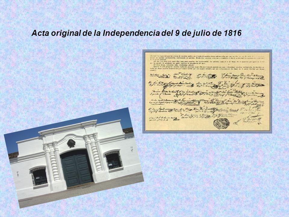 La casa de Tucumán El 9 de julio de 1816, el Congreso de Tucumán resolvió tratar la Declaración de la Independencia. Presidía la sesión el diputado po