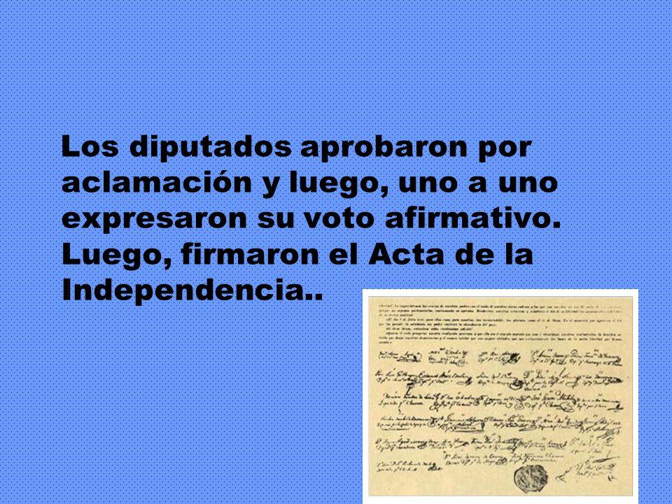 El secretario Juan José Paso leyó la propuesta: preguntó a los congresales