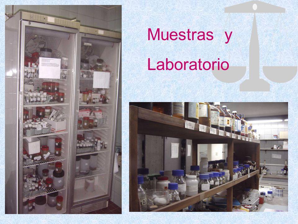 Muestras y Laboratorio
