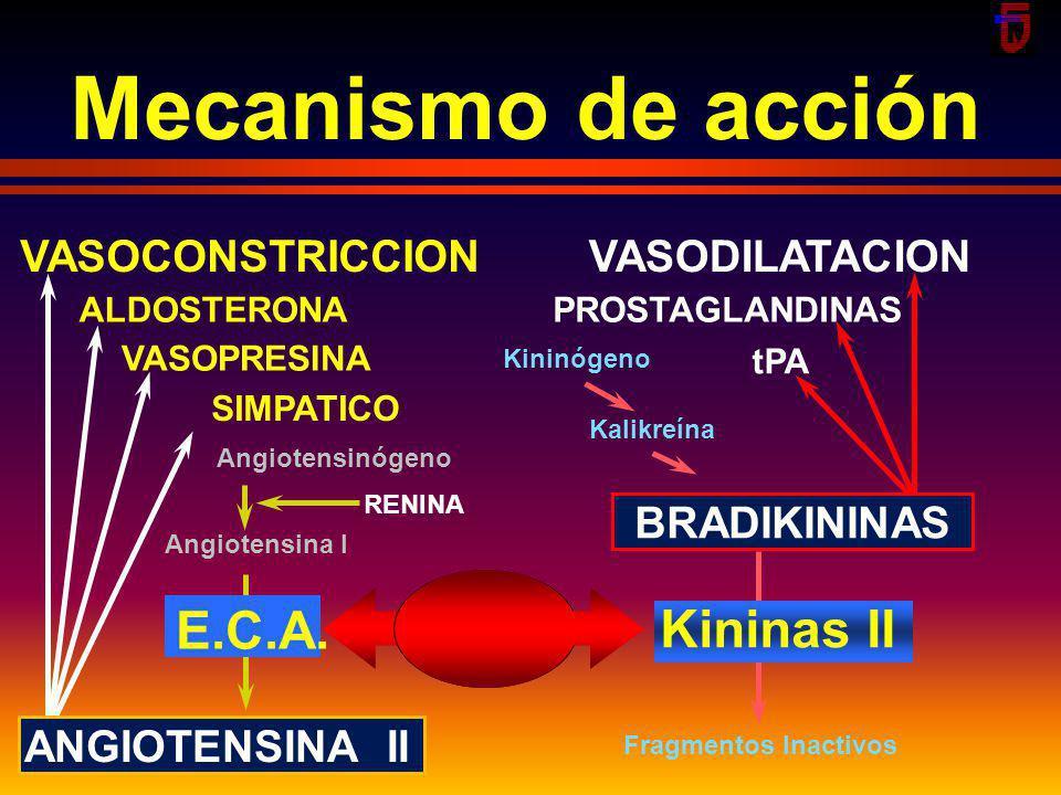smm2002 Sulfidrilo IECA Dicardoxilo IECA CH 2 CH 2 C C C C Fósforo IECA captopril enalapril quinapril ramipril fosinopril CH 3 COOH HSCH 2 CCN HO COOC