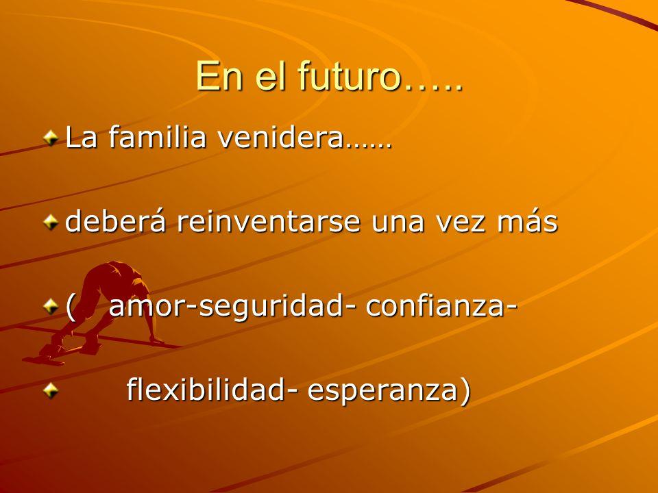 En el futuro…..