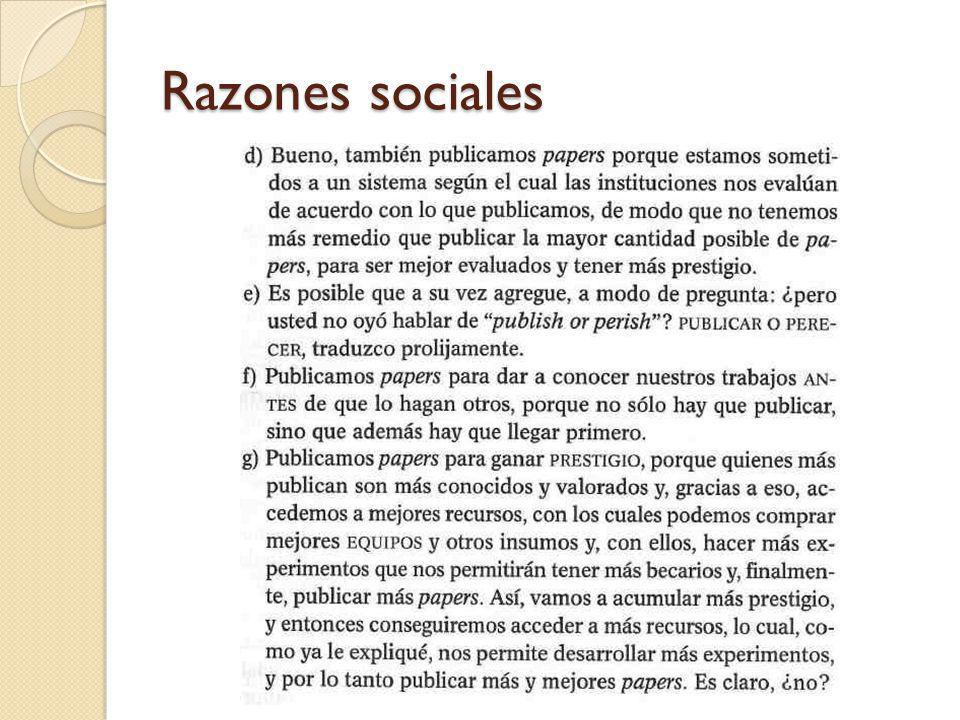 Razones sociales