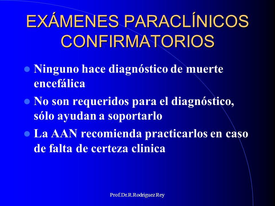 Prof.Dr.R.Rodriguez Rey CURSO MUERTE ENCEFALICA Tucumán 2006