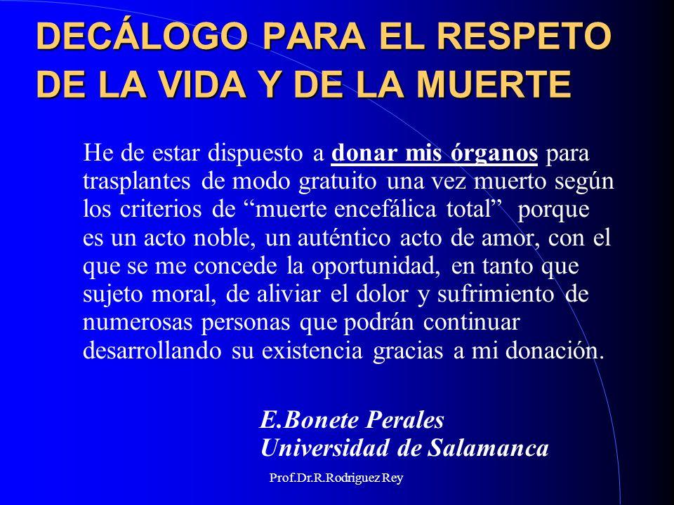 Prof.Dr.R.Rodriguez Rey UN POCO DE HISTORIA 1959 Coma depasse Mollaret P.