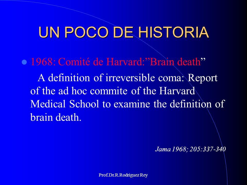 Prof.Dr.R.Rodriguez Rey UN POCO DE HISTORIA 1981: Comisión Presidencial,Washington,USA.