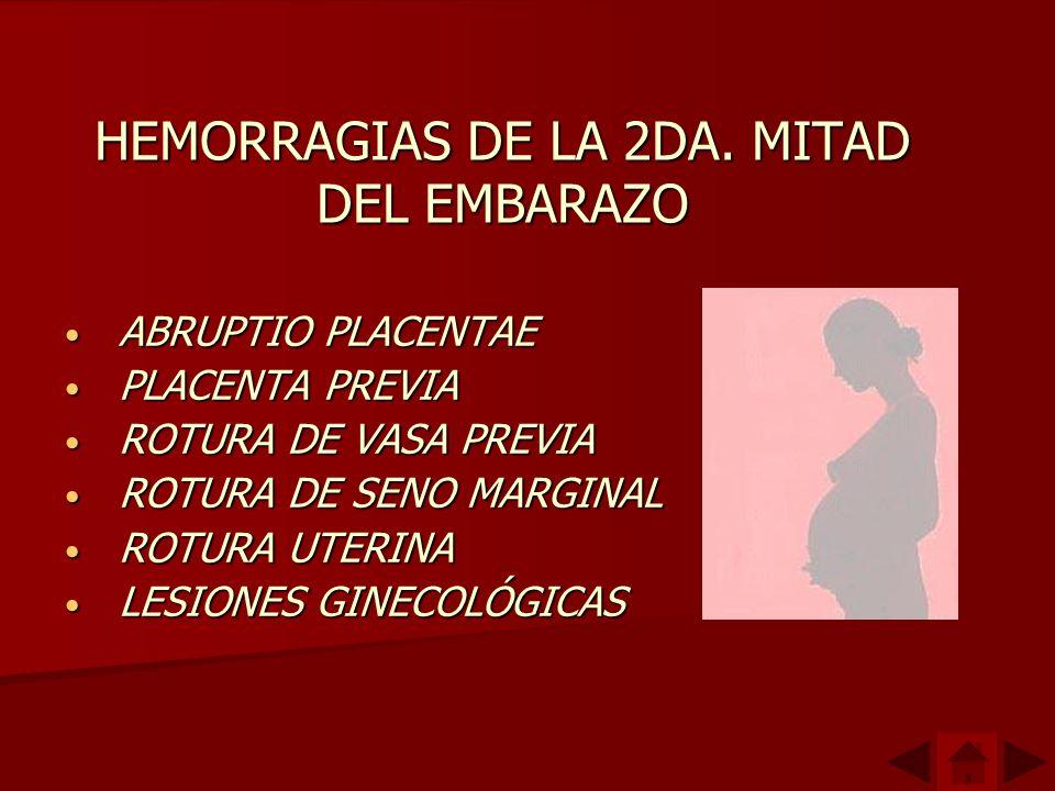HEMORRAGIAS DE LA 2DA.