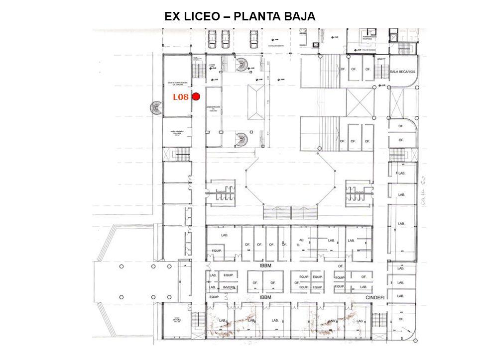 EX LICEO – PLANTA BAJA L08