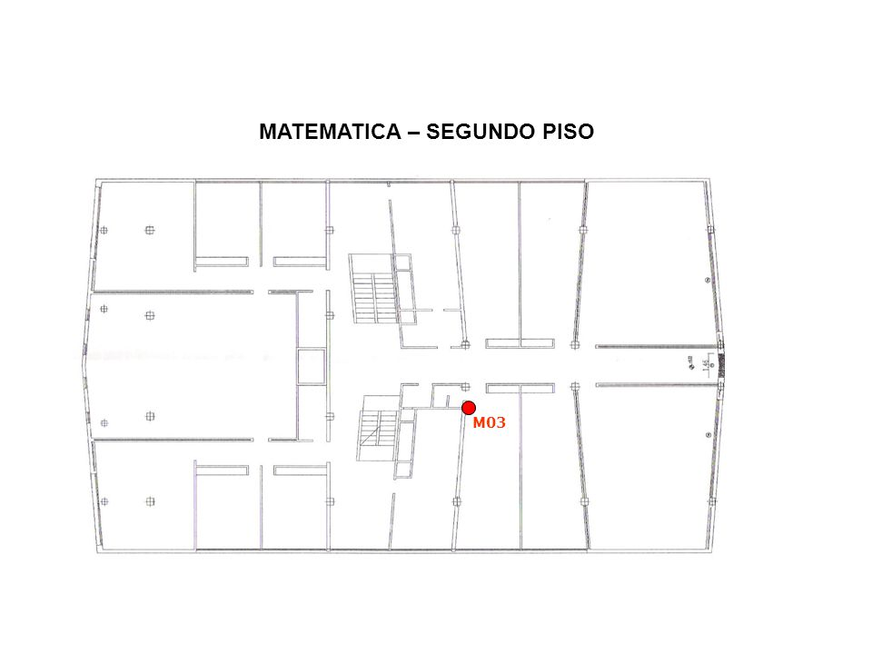 MATEMATICA – SEGUNDO PISO M03