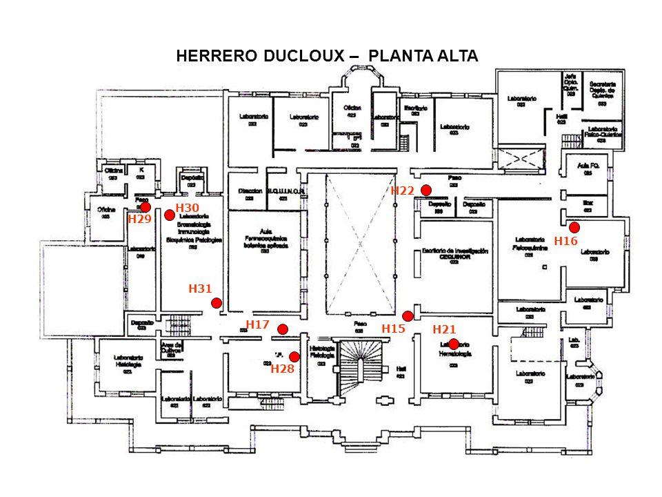 HERRERO DUCLOUX – ENTREPISO PLANTA ALTA H18 H19 H32 H34 H20