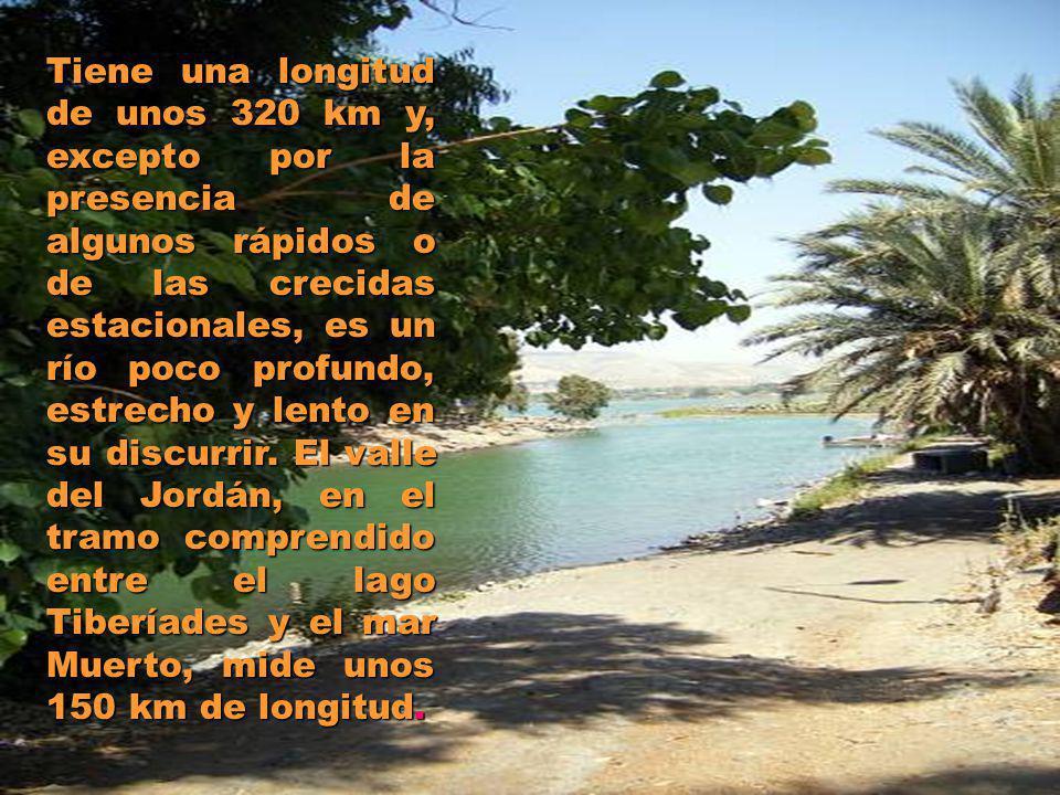 Tiene una longitud de unos 320 km y, excepto por la presencia de algunos rápidos o de las crecidas estacionales, es un río poco profundo, estrecho y l