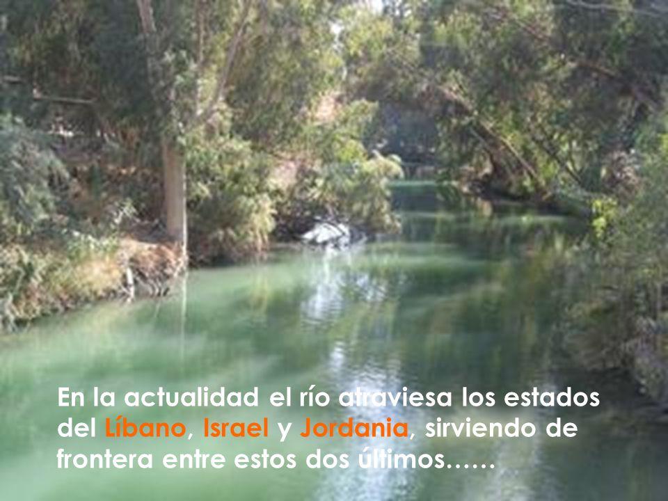 Es el más grande de Tierra Santa, y uno de los más importantes de la tierra histórica de Canaán, junto con el río Orontes, escenario de muchos eventos