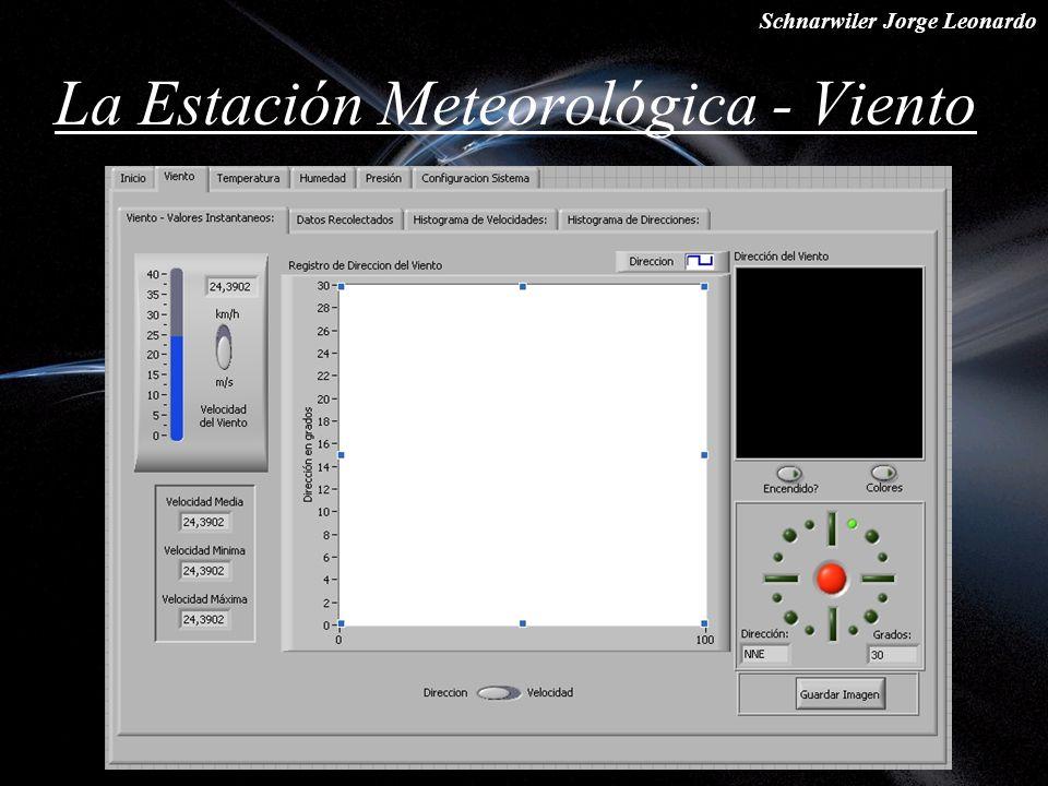 Schnarwiler Jorge Leonardo La Estación Meteorológica - Viento