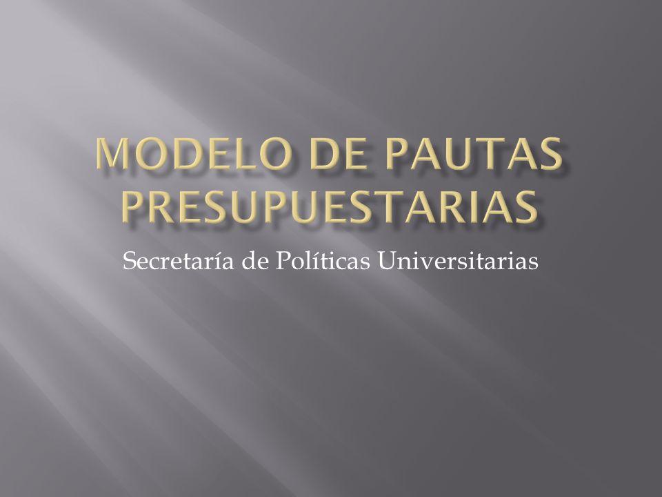 Secretaría de Políticas Universitarias