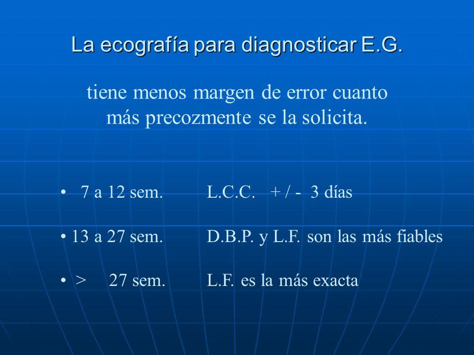Biometría ecográfica normal Diametro biparietal: crece rápido hasta 30ª sem. luego hace una meseta al término. También se mide perímetro y área cefáli