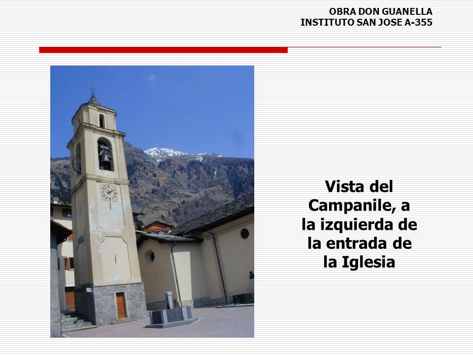 OBRA DON GUANELLA INSTITUTO SAN JOSE A-355 Vista del Campanile, a la izquierda de la entrada de la Iglesia