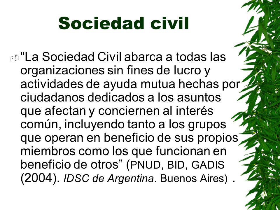 Sociedad civil